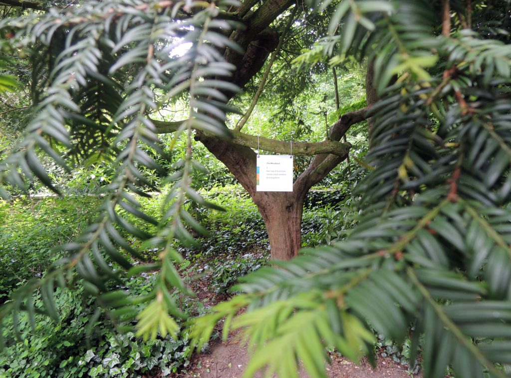 poetry interventions by ian duhig in and around sewerby hall & gardens. [bridlington poety festival]